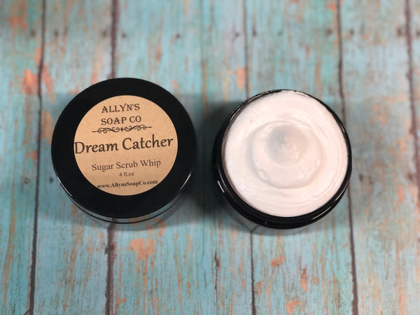 Dream Catcher Sugar Scrub Whip