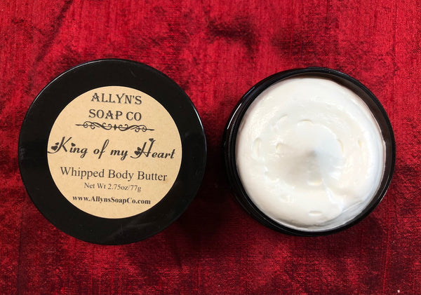 King of My Heart Whipped Body Butter