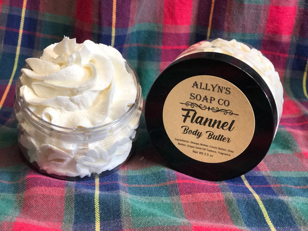Flannel Whipped Body Butter