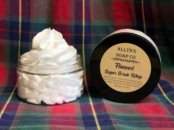 Flannel Whipped Sugar Scrub