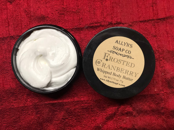 Frosted Cranberry Whipped Body Butter