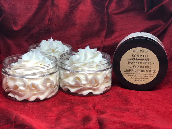 Pumpkin Spice & Everything Nice Whipped Body Butter