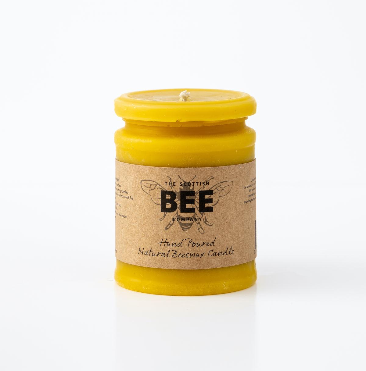 Unscented Beeswax Candles
