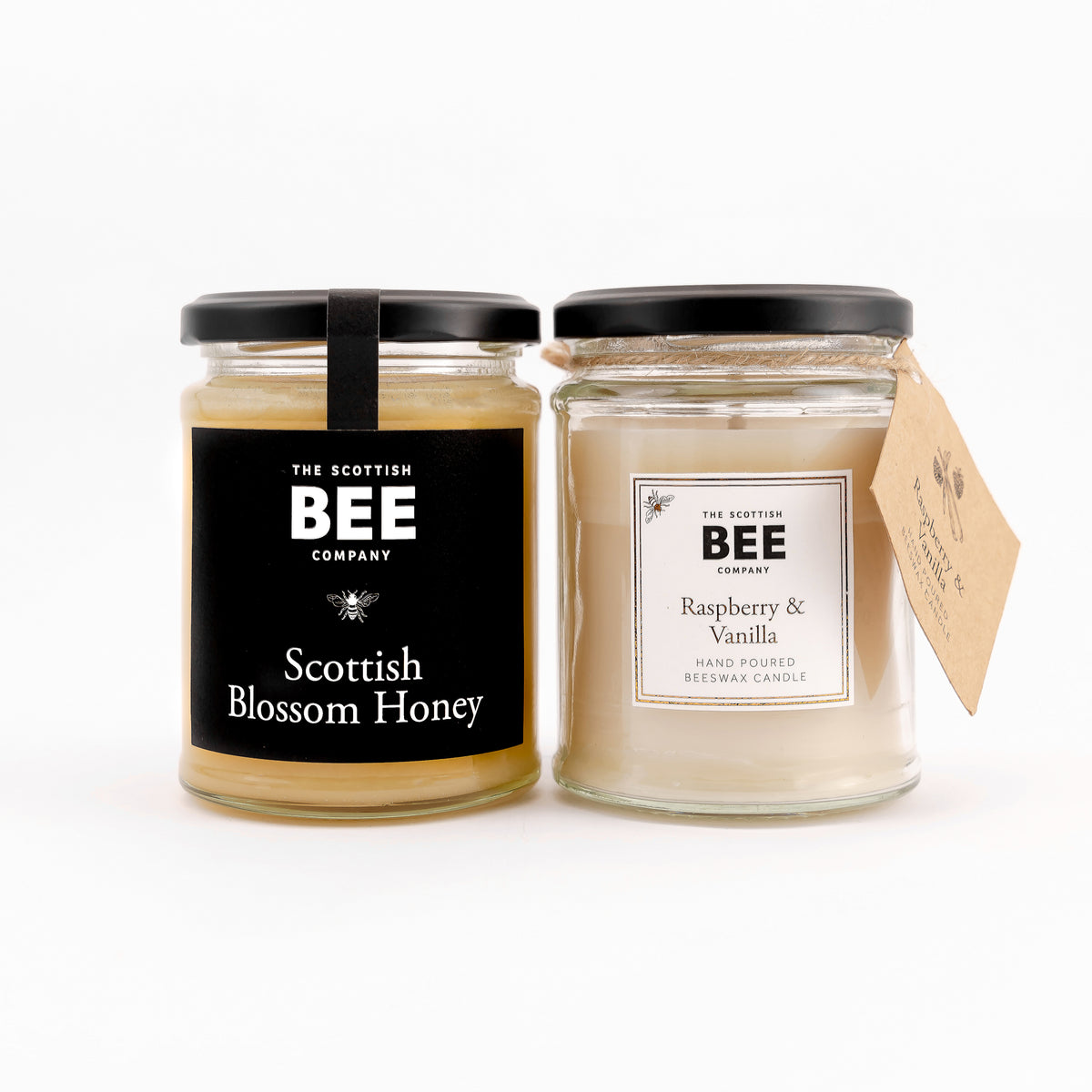 Scottish Blossom Honey and Raspberry and Vanilla Candle
