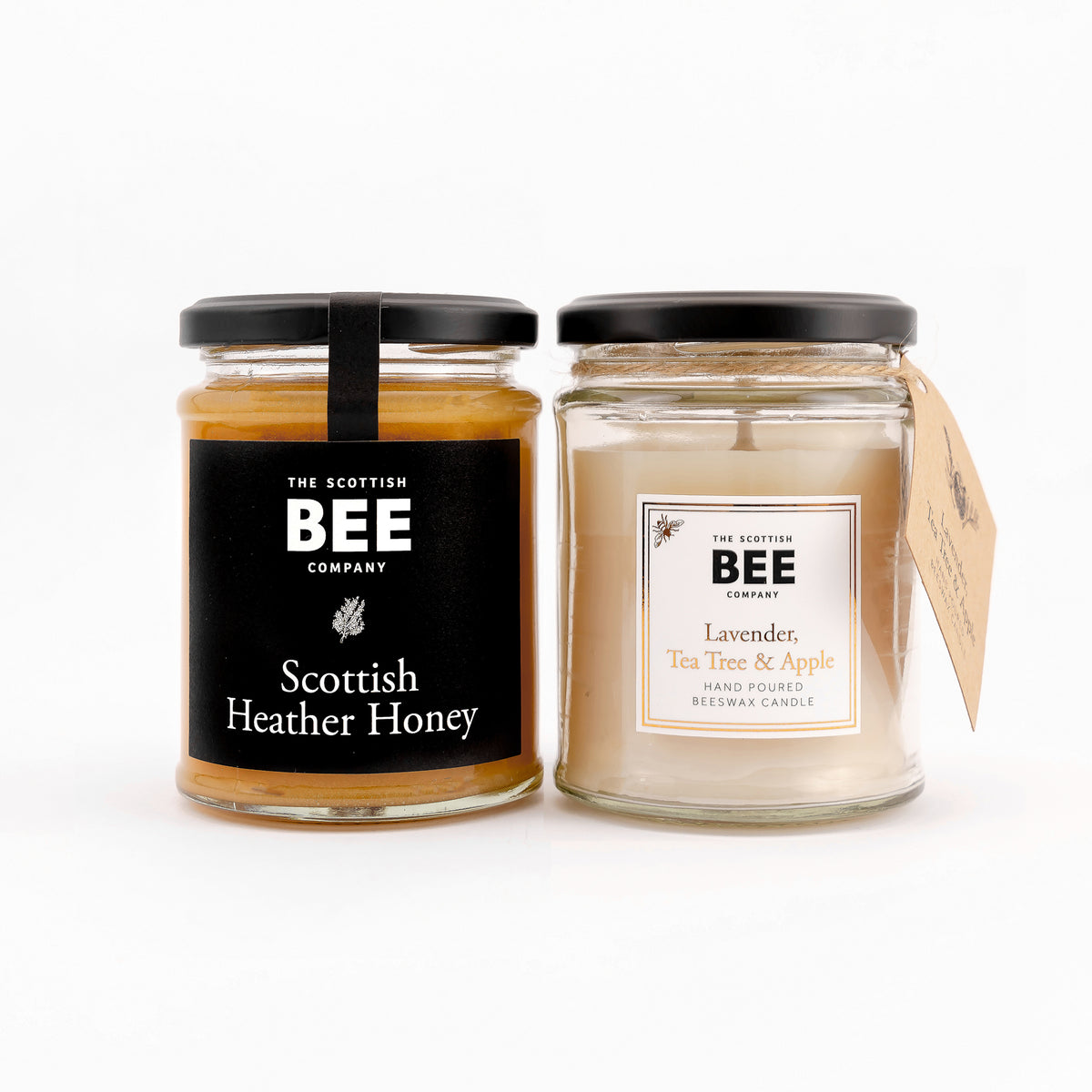 Scottish Heather Honey and Lavender Tea Tree and Apple Candle