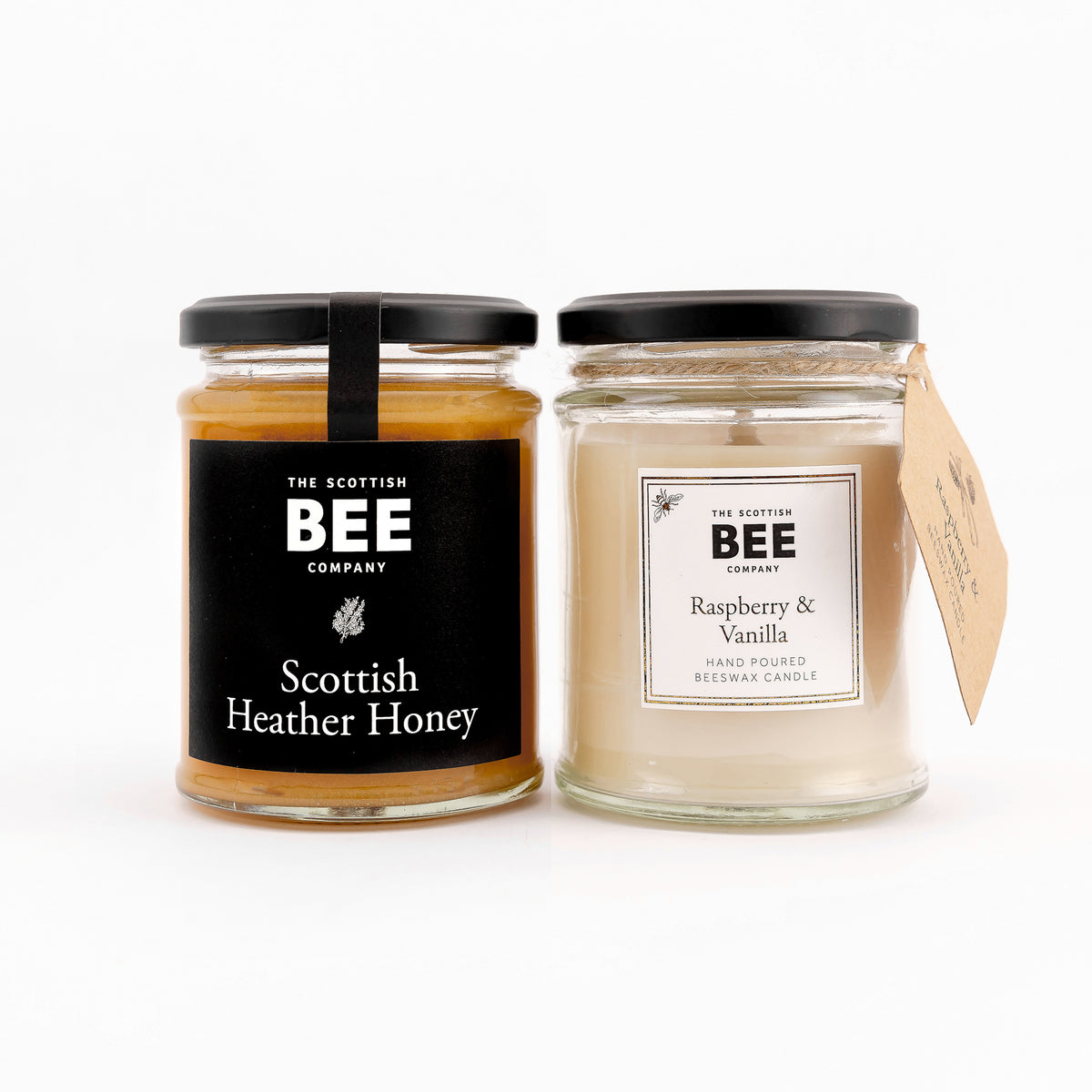 Scottish Heather Honey and Raspberry and Vanilla Candle