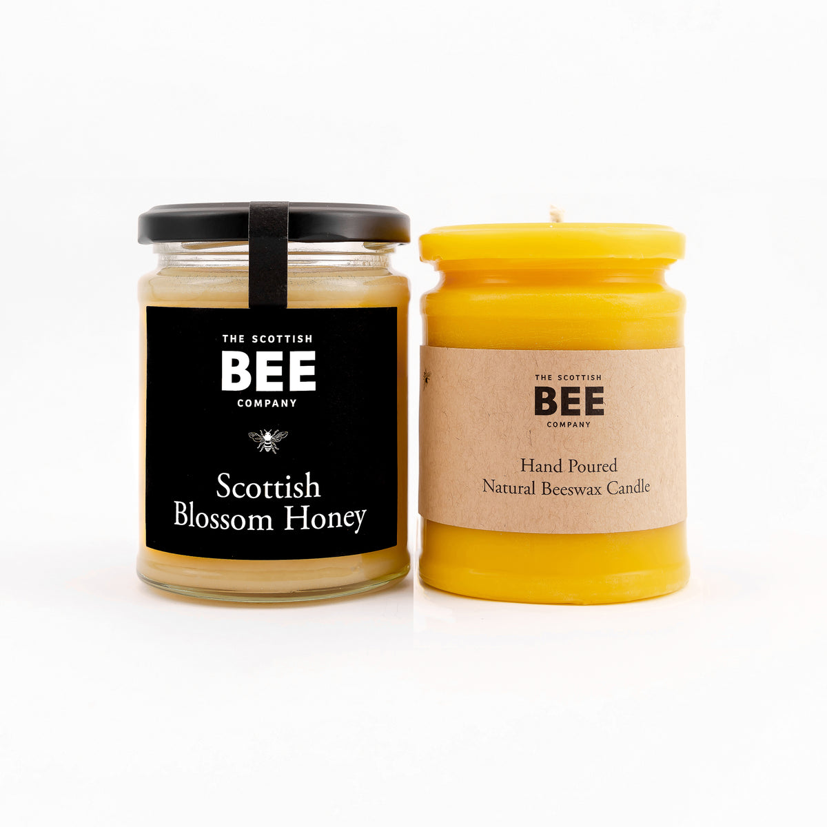 Scottish Blossom Honey and Beeswax Candle