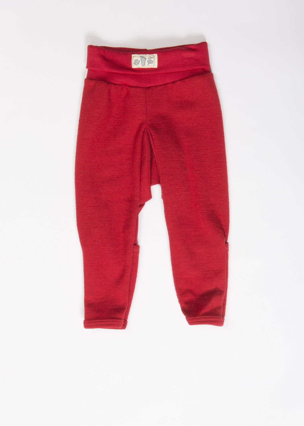 Baby-Hose Wolle/Seide rot