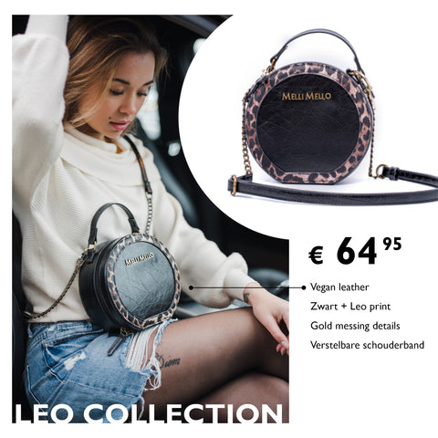 LEO COLLECTION RONDE CROSSOVER BAG MELLI MELLO