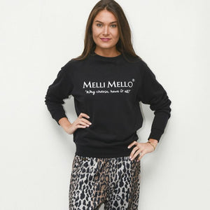 Zwarte Melli Mello sweater