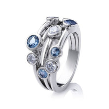 Load image into Gallery viewer, Whimsical and elegant cubic Zirconia Ring 💍
