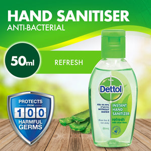 Dettol Instant Hand Sanitiser 50mL (Ships from Perth today)