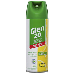 Glen 20 Disinfectant 300g Citrus Breeze (Ships today from Perth)
