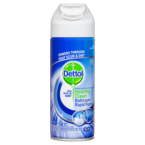 Dettol Healthy Clean Bathroom Rapid Foam 390g (Ships today from Perth)