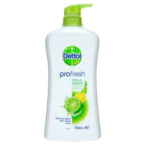 Dettol Profresh Shower Gel Body Wash Lemon and Lime 950mL (Ships today from Perth)