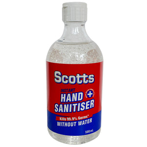 Scotts Aloe Hand Sanitiser 500ml (Made in Australia)