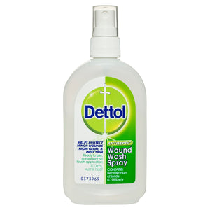 Dettol Antiseptic Disinfectant Wound Spray 100mL (Ships today from Perth)