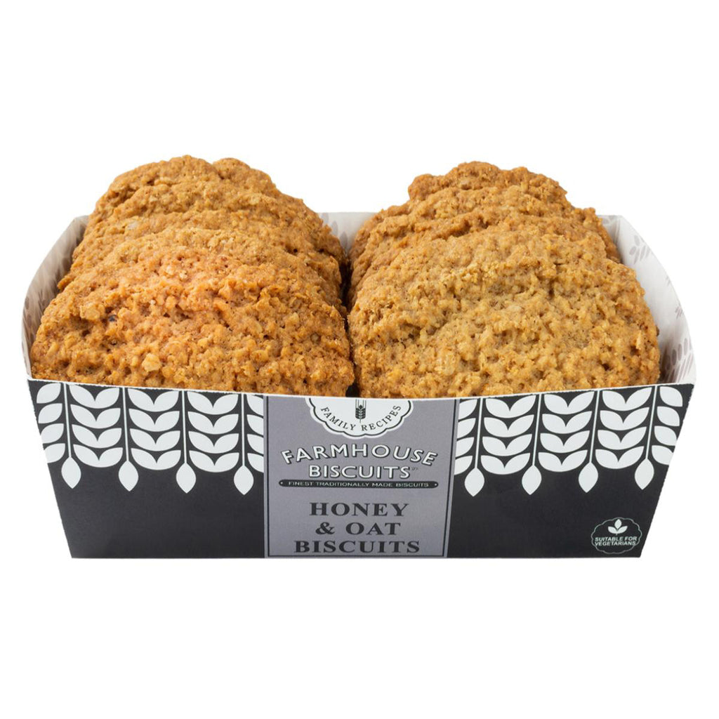 Farmhouse Biscuits Honey & Oat Biscuits