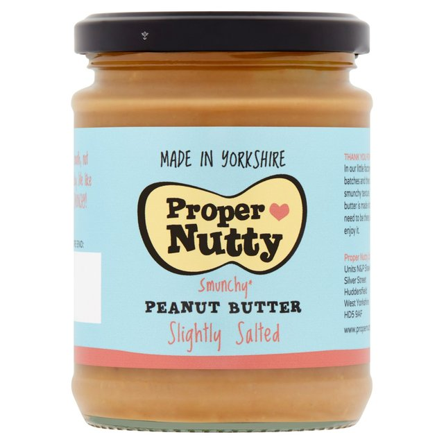 Proper Nutty Slightly Salted Peanut Butter