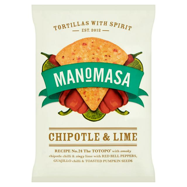 Manomasa Chipotle and Lime Tortillaa