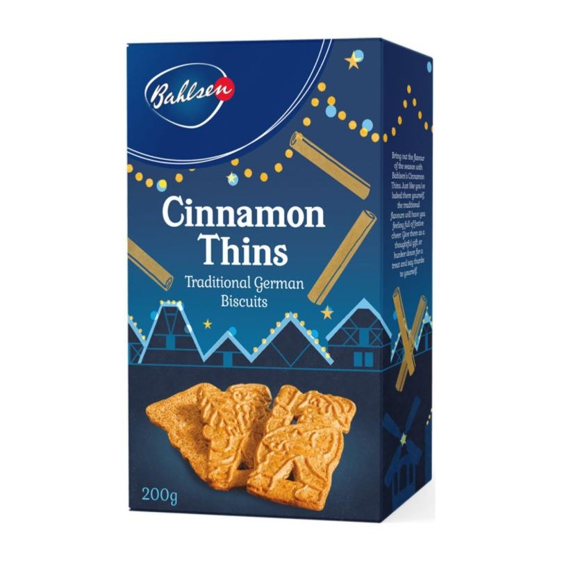 Bahlsen Cinnamon thins