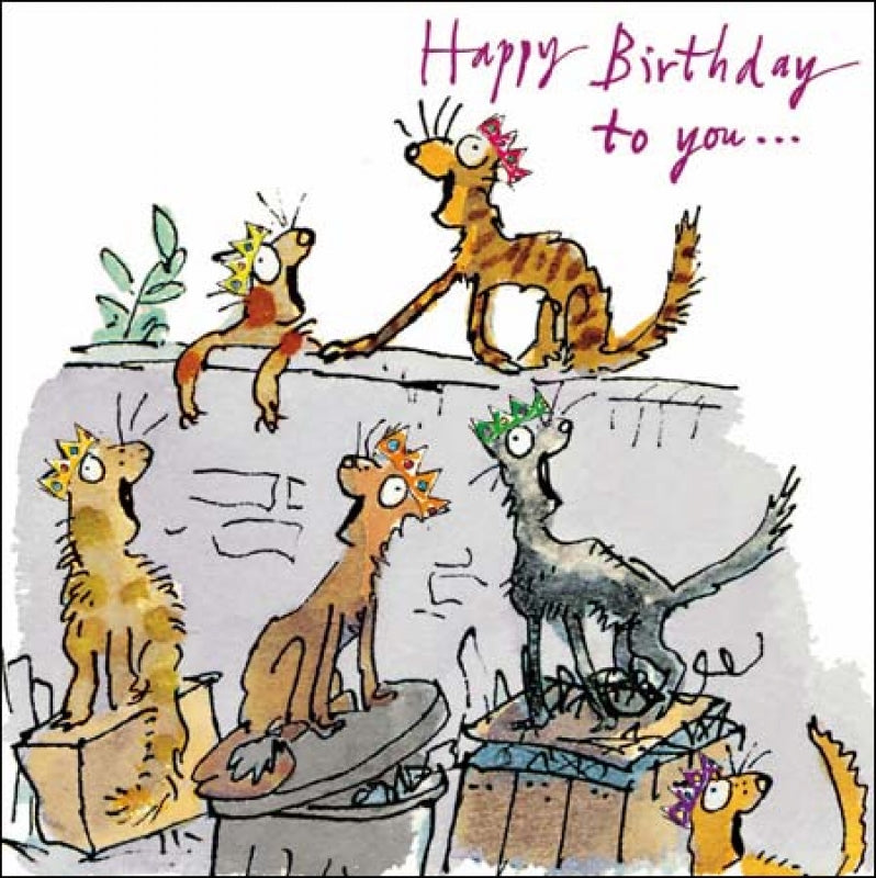 Quentin Blake - Birthday Song