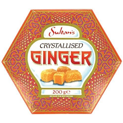 Crystalised Ginger hex box