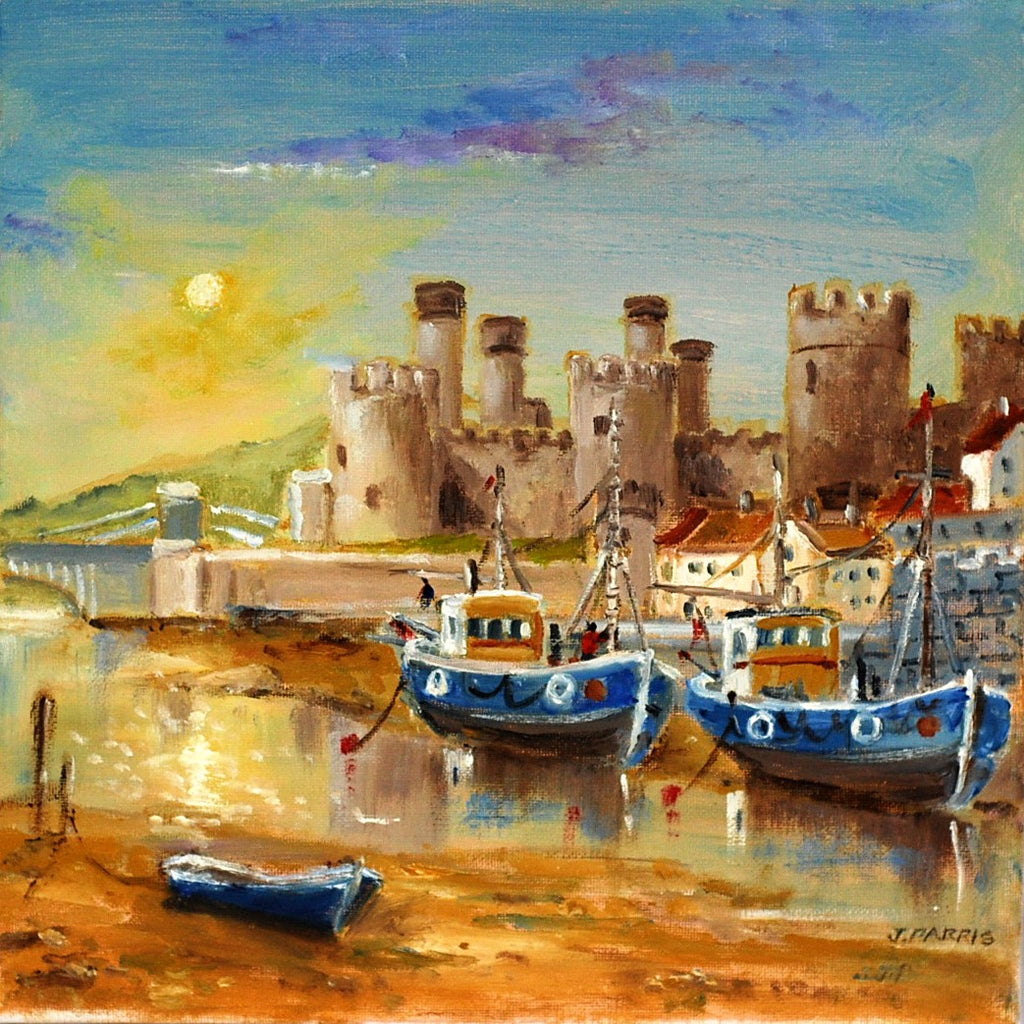 Conway Castle by John Parris