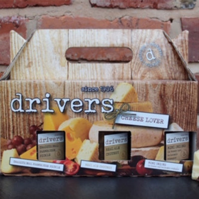 Drivers Cheese Lovers Gift Box