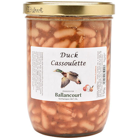Cassoulet with duck