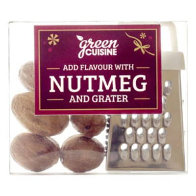 Grater with Nutmeg in a Box