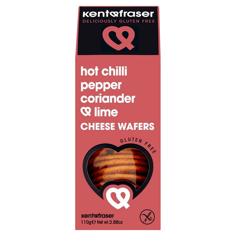 KF Criscuits Hot Chilli Pepper Coriander and Lime