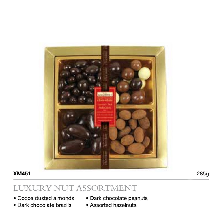 Assorted Luxury Nut Sharing Box