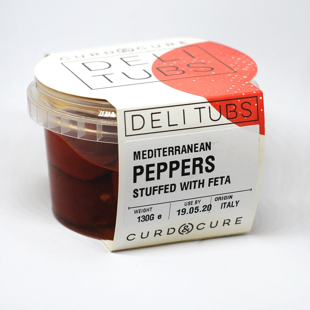 Deli Tubs Peppers Stuffed with Feta