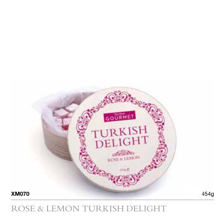 Turkish Delight Rose and Lemon