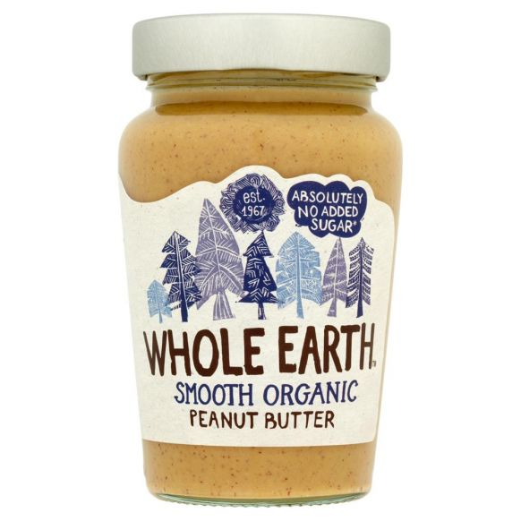 Whole Earth Peanut Butter Smooth Organic