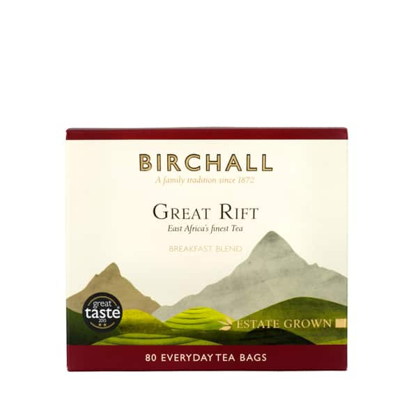 great rift breakfast blend 80 tea bags  from holwood farm shop keston kent