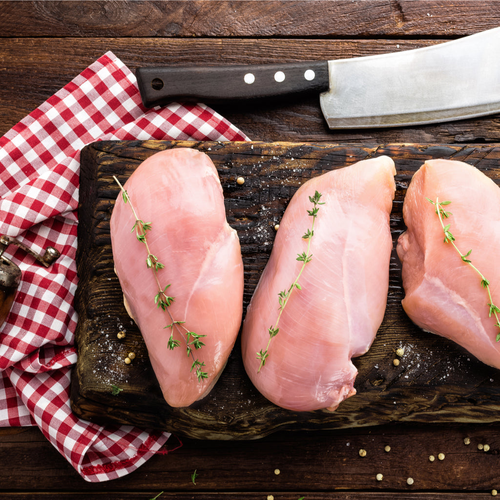 chicken breast fillets from Holwood farm shop