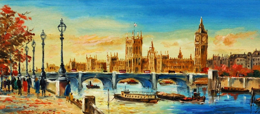 South Bank Westminster by John Parris