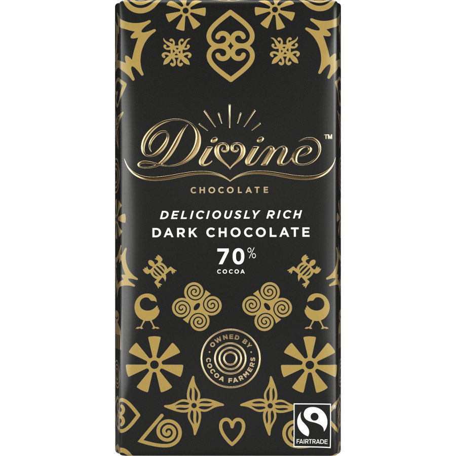 Divine Dark Chocolate by holwood farm keston kent