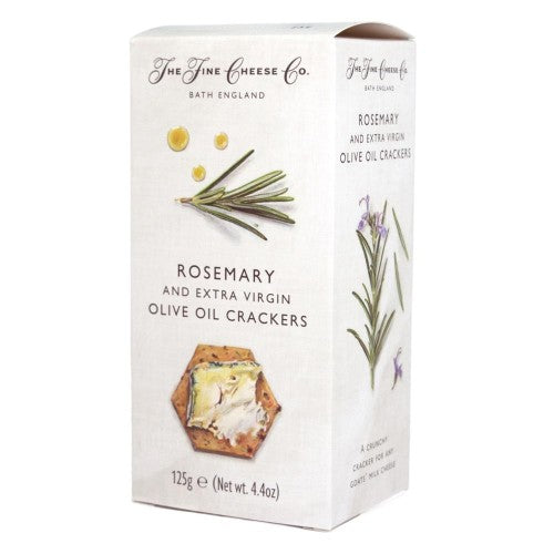 Rosemary and EV Olive Oil Crackers
