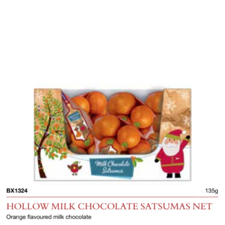 Milk Chocolate Satsuma Net