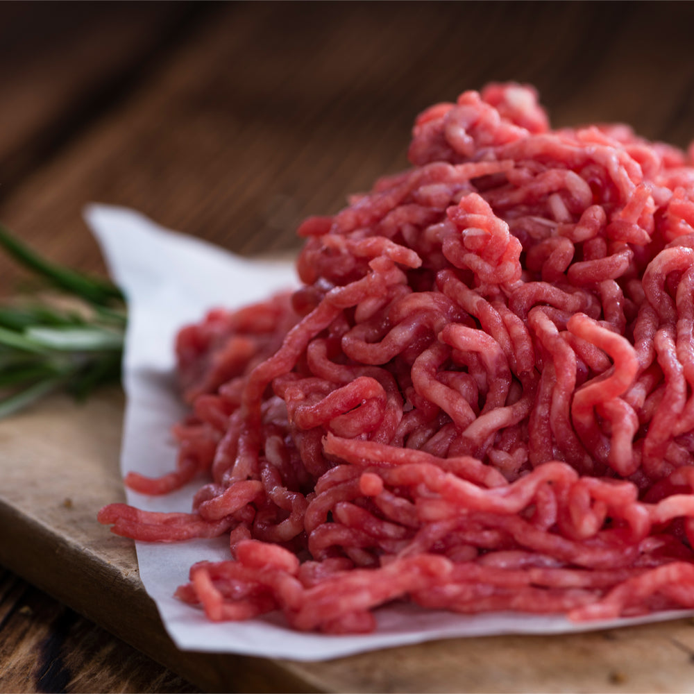 Best steak mince from Holwood farm shop