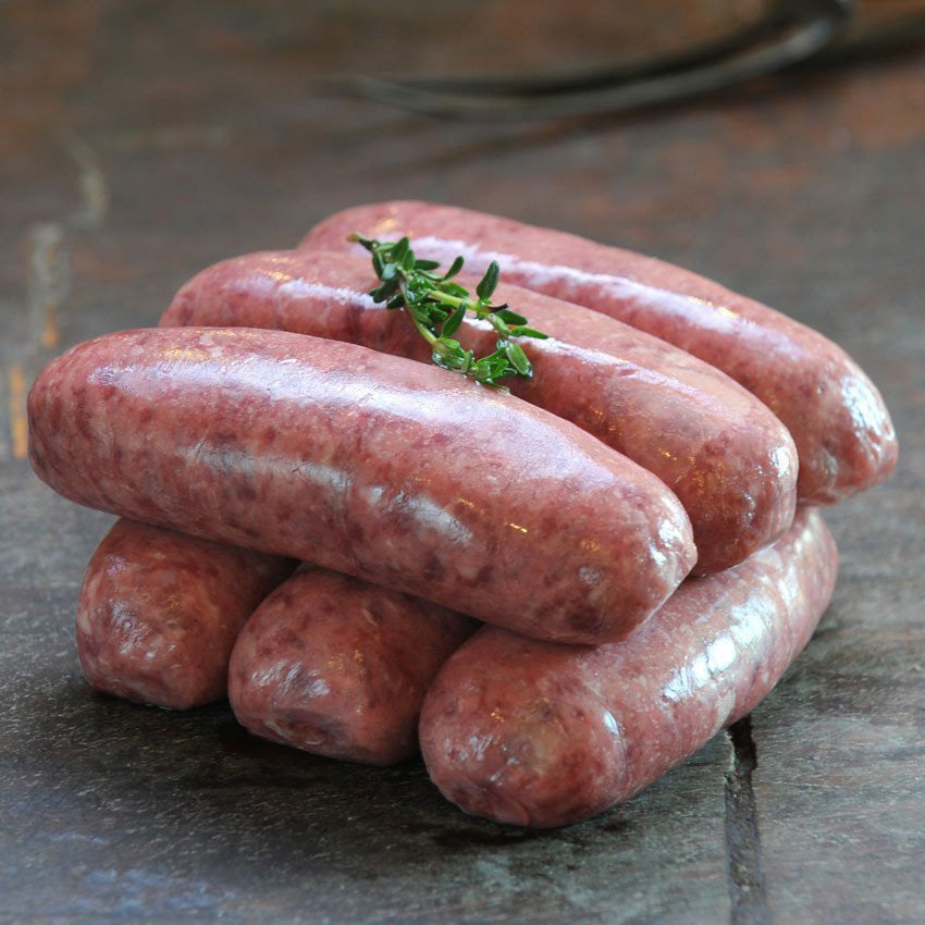1kg Venison And Red Wine Sausage