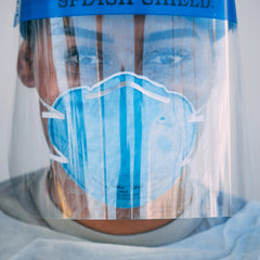 Medical Face Shields: 100/pack
