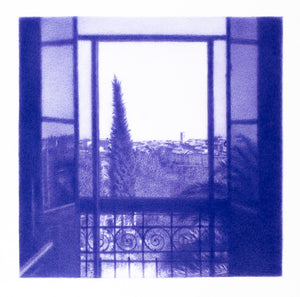 Matisse's view from Le Reve (Vence), 2020