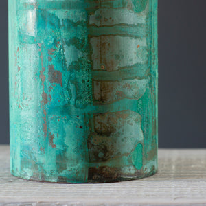Copper vessel, green 2019