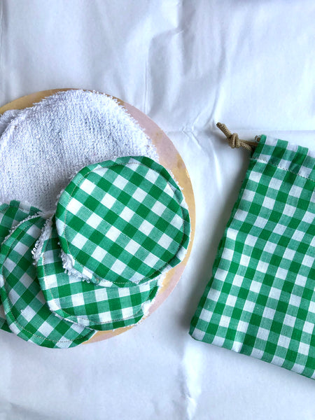 Reusable Bamboo Face Wipes