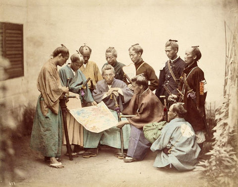 The culture of 19th century Japan.