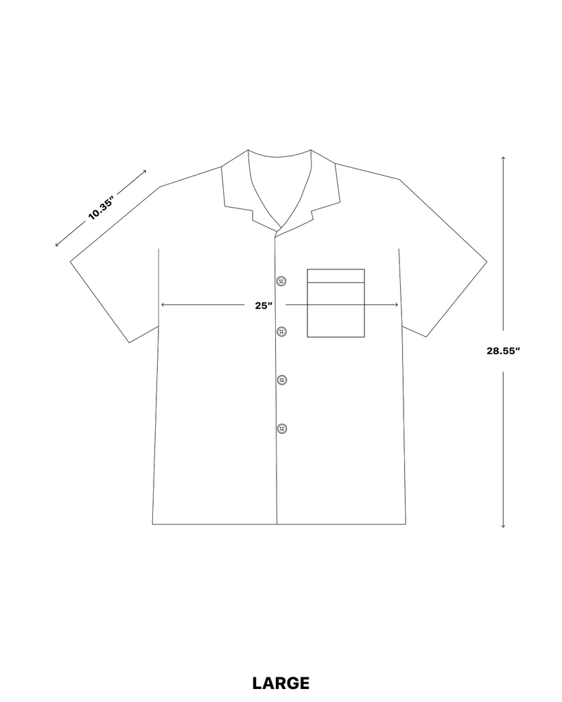 Camp Collar Size Chart Large